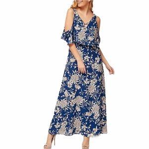 Dex Cold Shoulder Maxi Dress